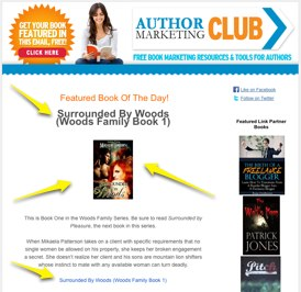 Author Marketing Club Book Feature
