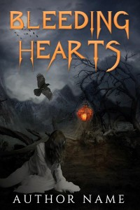 BLEEDING HEART - horror scary supernatural - premade book covers