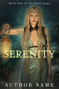 SERENITY - under 25 dollars premade book cover